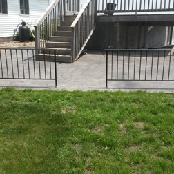 Property Rails, Custom Rails, Fairfield, IA