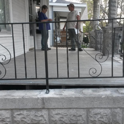 Deck Rails, Custom Rails, Fairfield, IA